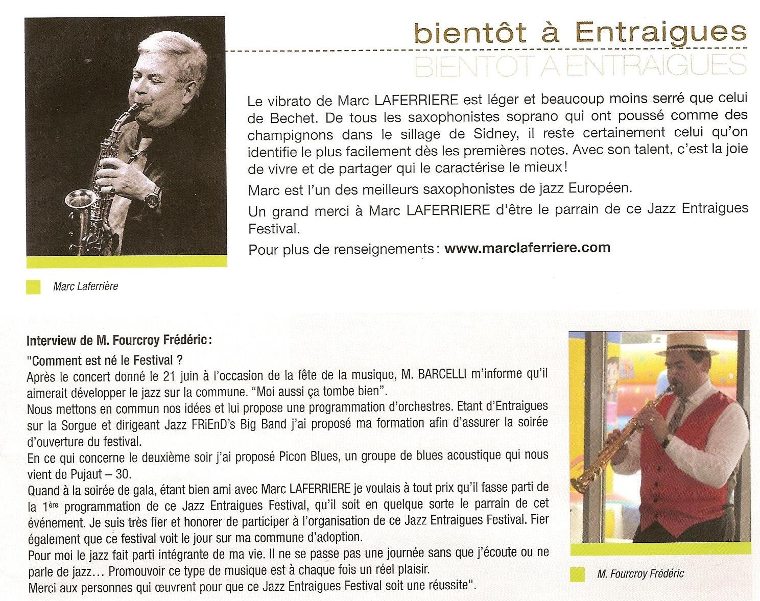 Bulletin municipal Entraigues mars 2010 2eme page