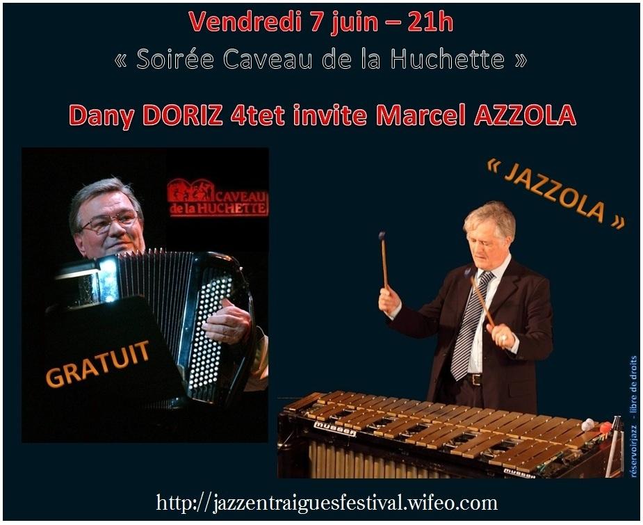 Dany DORIZ - Marcel AZZOLA - Caveau de la Huchette