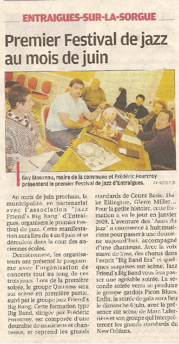 La Provence 5 avril 2010