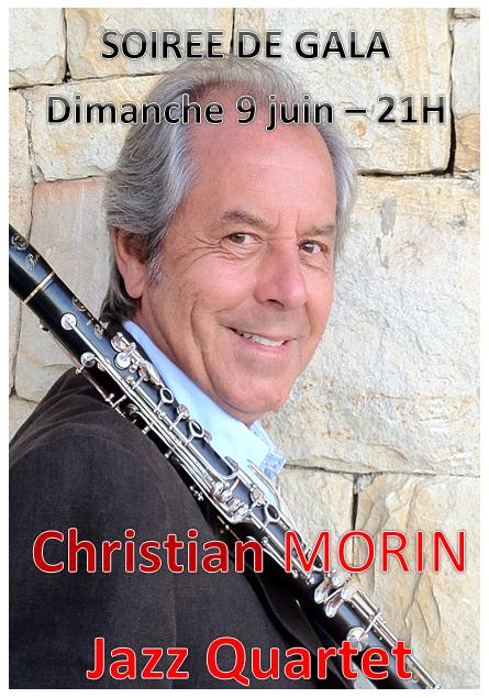 Soirée de gala Christian MORIN Jazz 4tet